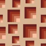 Seamless brown squares Royalty Free Stock Photos