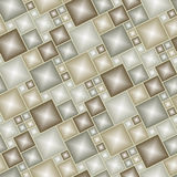 Seamless brown tile pattern Royalty Free Stock Photos