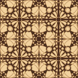 Seamless Brown Tiles Stock Images