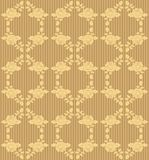 Seamless brown wallpaper Stock Images