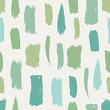 Seamless brush strokes Royalty Free Stock Images