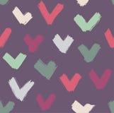 Seamless brush strokes pattern Stock Photo