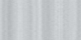 Seamless Brushed Aluminum Stock Photography