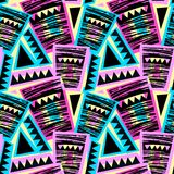 Seamless brushpen doodle pattern grunge texture.Trendy modern in. K artistic design with authentic and unique scrapes, watercolor blotted background for a logo vector illustration