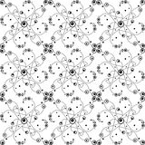 Seamless bubble dots pattern Stock Photo