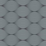 Seamless bulge illusion pattern. Seamless grey bulge illusion pattern Royalty Free Stock Photos
