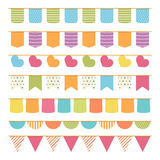 Seamless Bunting Royalty Free Stock Photography