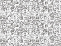 Seamless business pattern Stock Photography