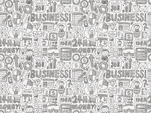 Seamless business pattern Stock Photography
