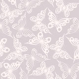 Seamless with butterflies stock illustration