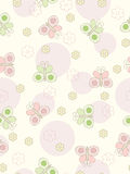 Seamless butterflies background. Royalty Free Stock Images
