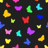 Seamless of butterflies. Stock Photography