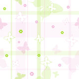 Seamless butterflies pattern Stock Photography