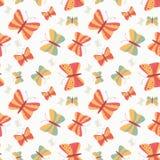 Seamless butterflies pattern Stock Photography