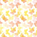 Seamless butterfly pattern stock illustration