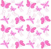 Seamless butterfly pattern Stock Photo