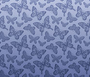 Seamless butterfly pattern. The eps file is seamless Stock Image