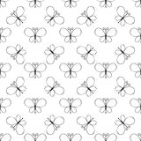 Seamless butterfly pattern Royalty Free Stock Photo