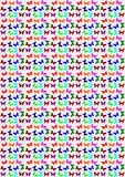 Seamless butterfly pattern Royalty Free Stock Images