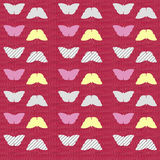 Seamless butterfly texture Royalty Free Stock Photography