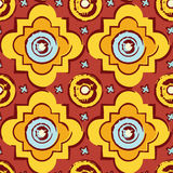 Seamless byzantine style background Royalty Free Stock Image