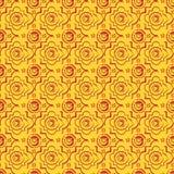Seamless byzantine style background Royalty Free Stock Images