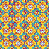 Seamless byzantine style background Stock Image