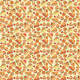 Seamless cake and bakery pattern Stock Images