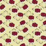 seamless cakemodell Royaltyfri Fotografi