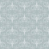 Seamless calligraphic pattern Royalty Free Stock Image