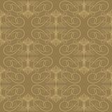 Seamless calligraphic pattern Stock Photo