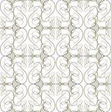 Seamless calligraphic pattern Royalty Free Stock Photos