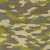 Seamless Camouflage Background. A Classic Seamless Camouflage Pattern, Illustration Stock Photos