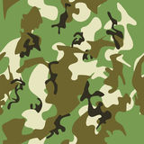 Seamless camouflage background Stock Photos