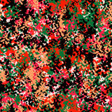 Seamless camouflage doodle pattern grunge texture. Royalty Free Stock Photography