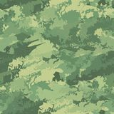 Seamless camouflage military cloth of infantry. Abstract background. Vector illustration. EPS8 Royalty Free Stock Image