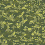 Seamless camouflage military cloth of infantry. Abstract background. Vector illustration Royalty Free Stock Photo