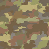 Seamless camouflage military pattern brown  vector Royalty Free Stock Photo