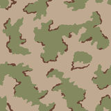 Seamless camouflage pattern Stock Photo