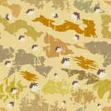 Seamless camouflage pattern, Stock Image
