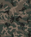 Seamless camouflage pattern stock illustration