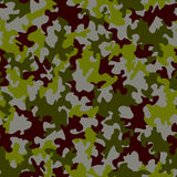Seamless camouflage pattern Stock Photos