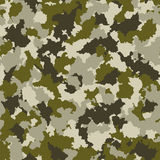 Seamless camouflage pattern Royalty Free Stock Photos