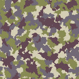 Seamless camouflage pattern Stock Image
