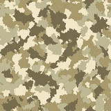 Seamless camouflage pattern. Vector-Illustration Royalty Free Stock Photo