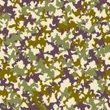 Seamless camouflage pattern Stock Image
