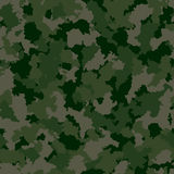Seamless camouflage pattern. Vector-Illustration Royalty Free Stock Photography