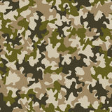 Seamless camouflage pattern Royalty Free Stock Photo