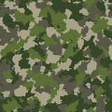 Seamless camouflage pattern Royalty Free Stock Photography
