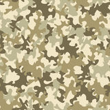 Seamless camouflage pattern Stock Photography